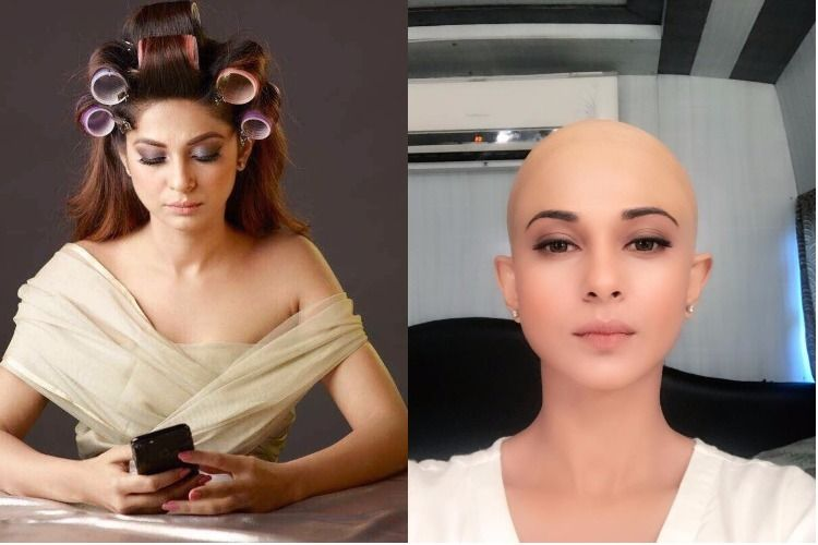 Jennifer Winget Bald Headshave