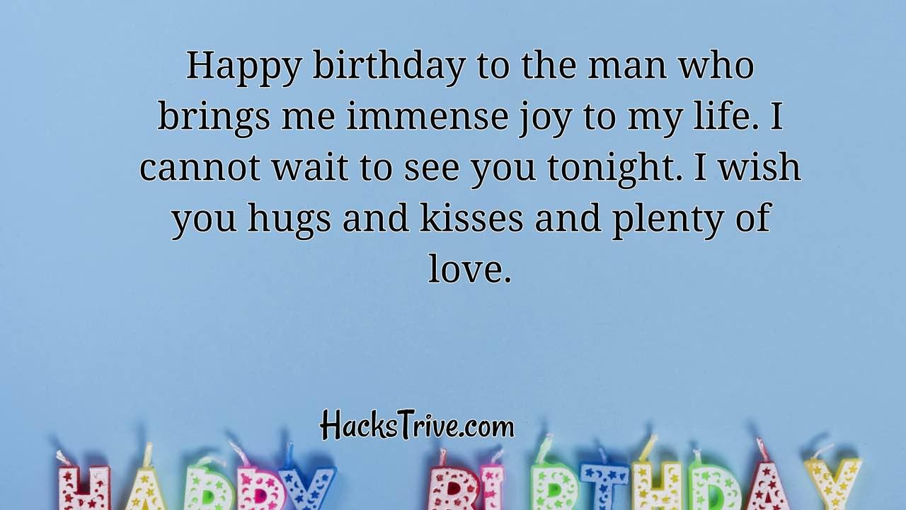 Heartfelt Birthday Wishes For Boyfriend Romantic Emotional Funny