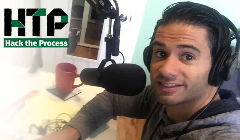 Getting Your Ideas Out There with Alex Cespedes on Hack the Process Podcast, Episode 15