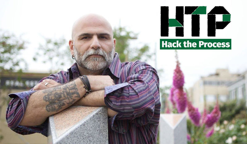 Balancing Activism, Privilege, and Social Media with Frank Strona on Hack the Process Podcast, Episode 43