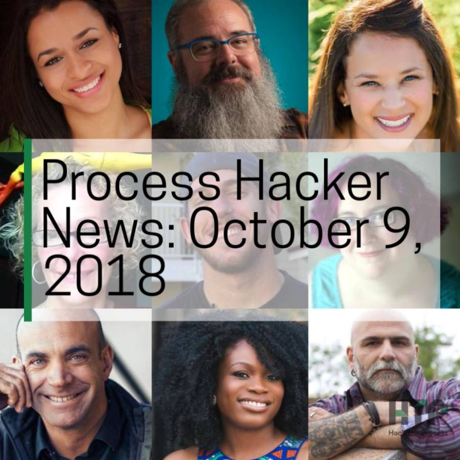2018-10-09 Process Hacker News – Fractional Vegetarians, Catalytic Mechanisms, Politically Active Moms, and More