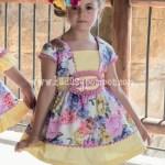 Vestido Gladiolo Manga Corta
