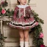 Vestido Fresa  Cuadros