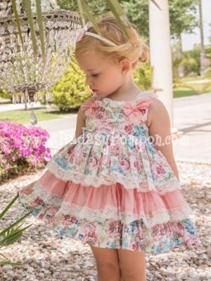 Vestido de Vuelo Estampado Floral
