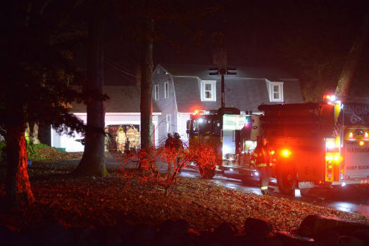 HVFCo: Kitchen Fire on Old Ponsett Road