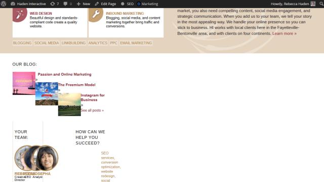 broken web page