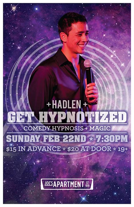 Hadlen com - Hadlen   Hypnotist Magician Mentalist