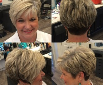 layered pixie with nape undercut over 60