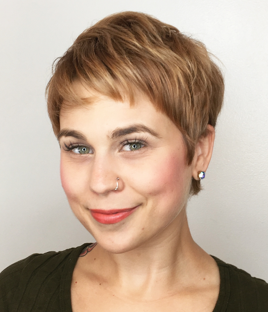 Very Short Pixie for Fine Hair