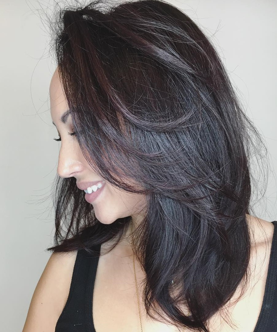 Layered Cut for Thick Straight Hair