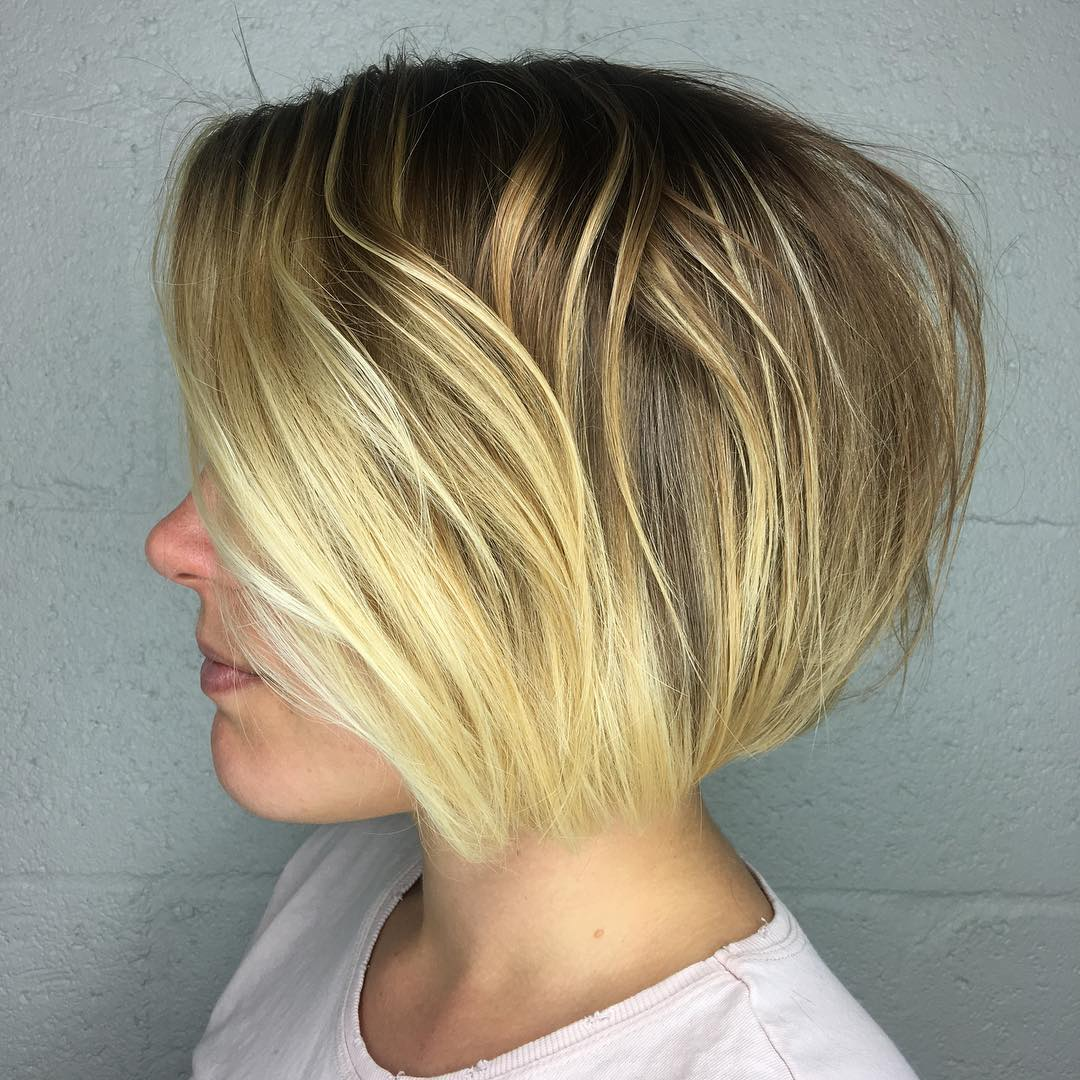 Short Wedge Pixie Bob Cut