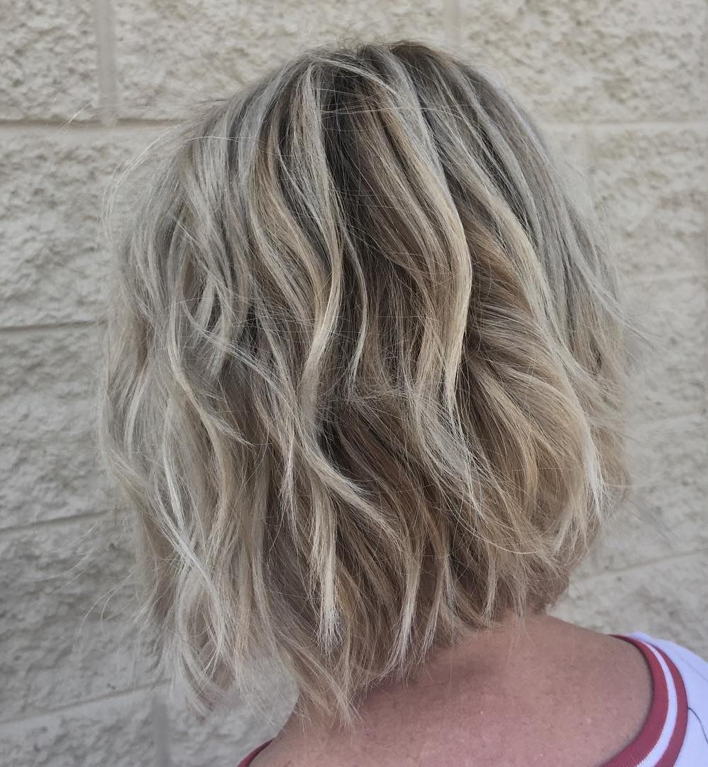 Back View Shoulder Length Layered Haircuts For Thick Hair 86