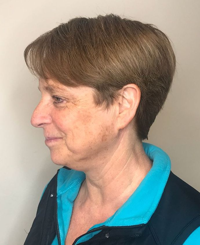 Tapered Pixie for Straight Hair