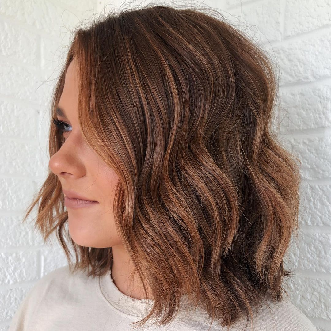 Simple Textured Lob with Waves