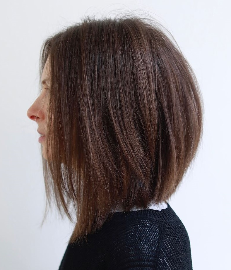 Layered Dark Chocolate Lob