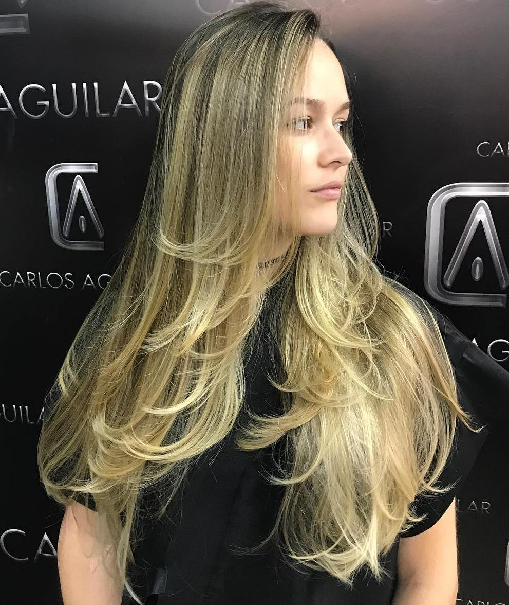 Long Fine Hair with Layers