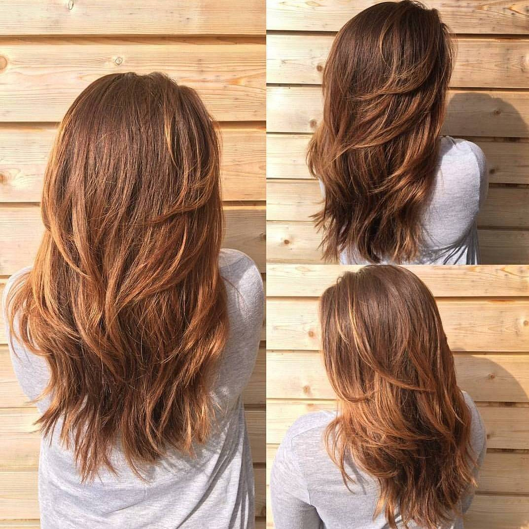Long Haircut with Short and Long Layers