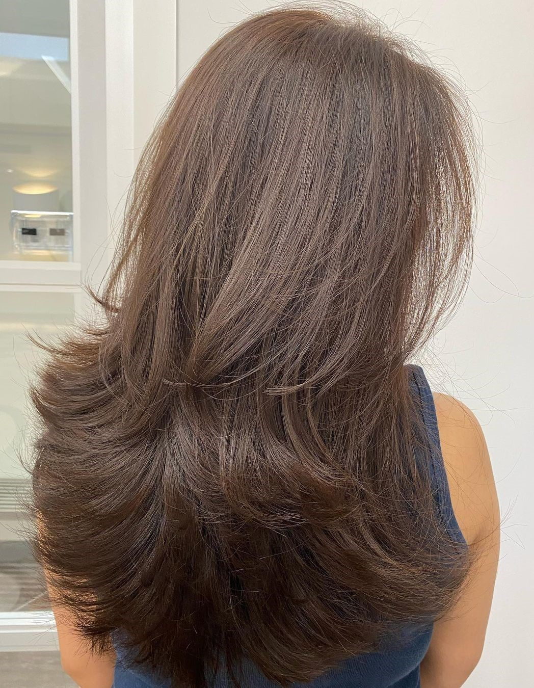 Wispy Long Haircut for Women