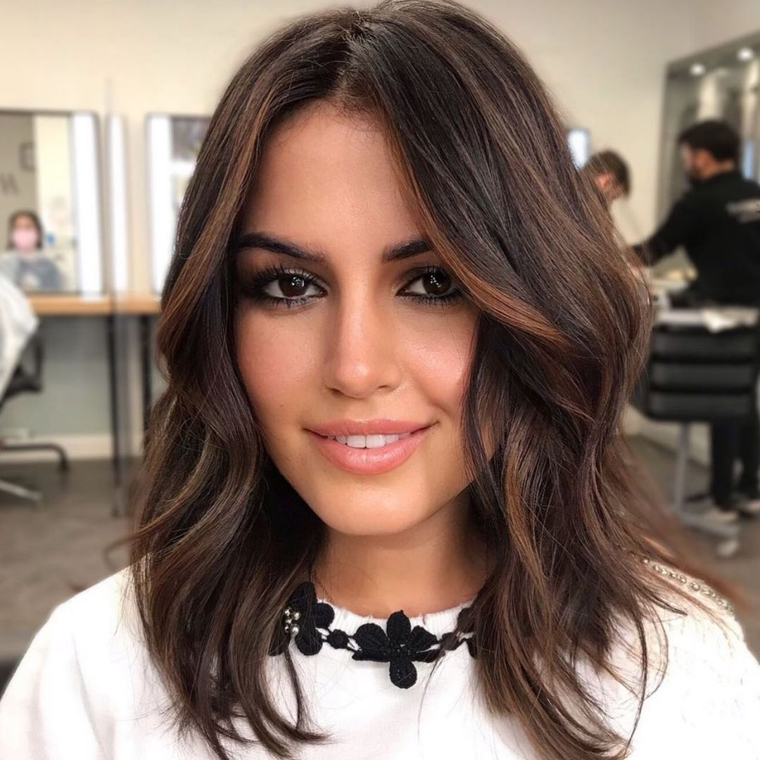 Caramel Brown Hair Color Ideas for Brunettes