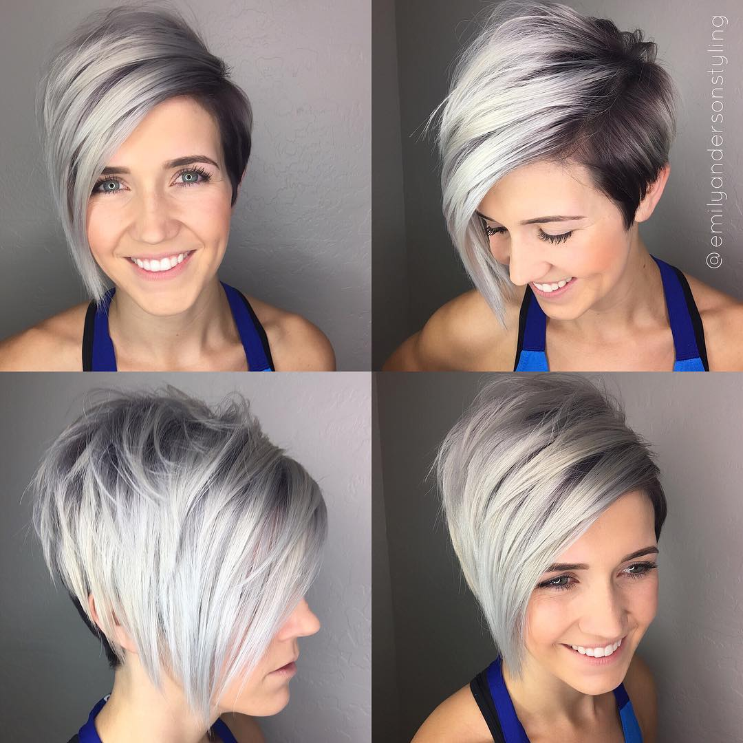 Two-Tone Asymmetrical Pixie Bob