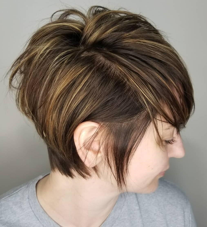 Long Messy Piece-y Haircut