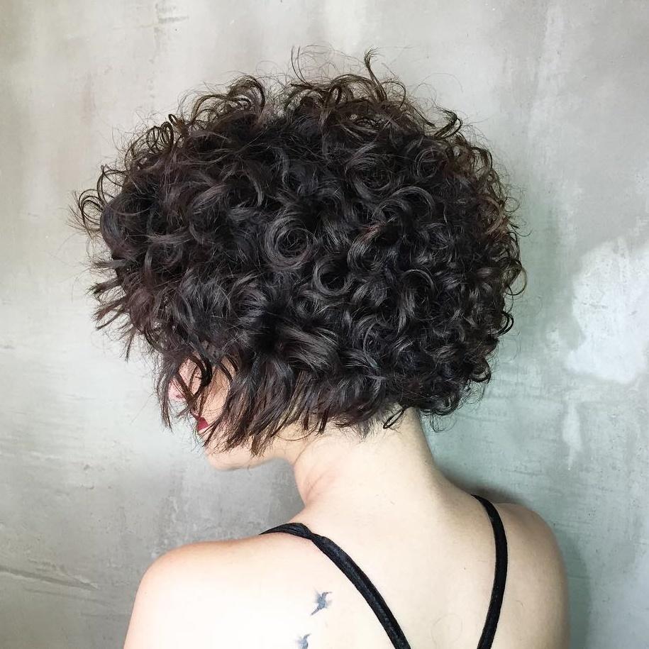 Chin-Length Bob for Thick Wavy Hair