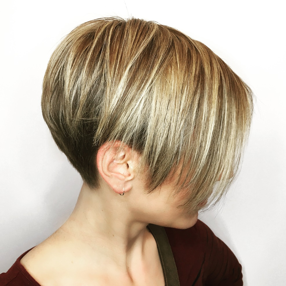Undercut Pixie for Fine Hair