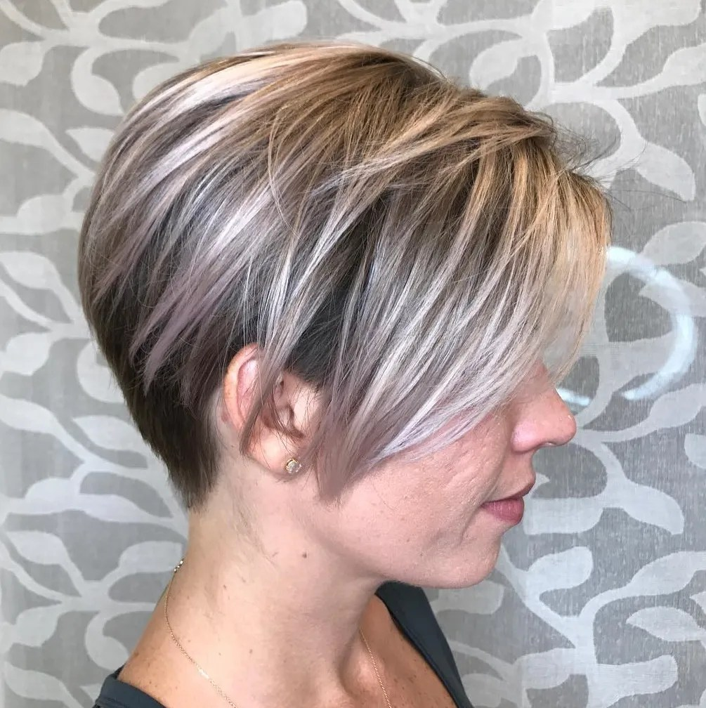 Pixie Undercut with Long Layers