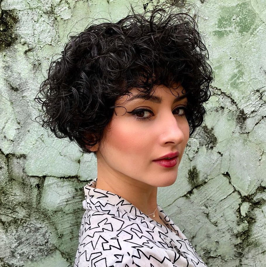 Pixie Bob for Thick Wavy Hair