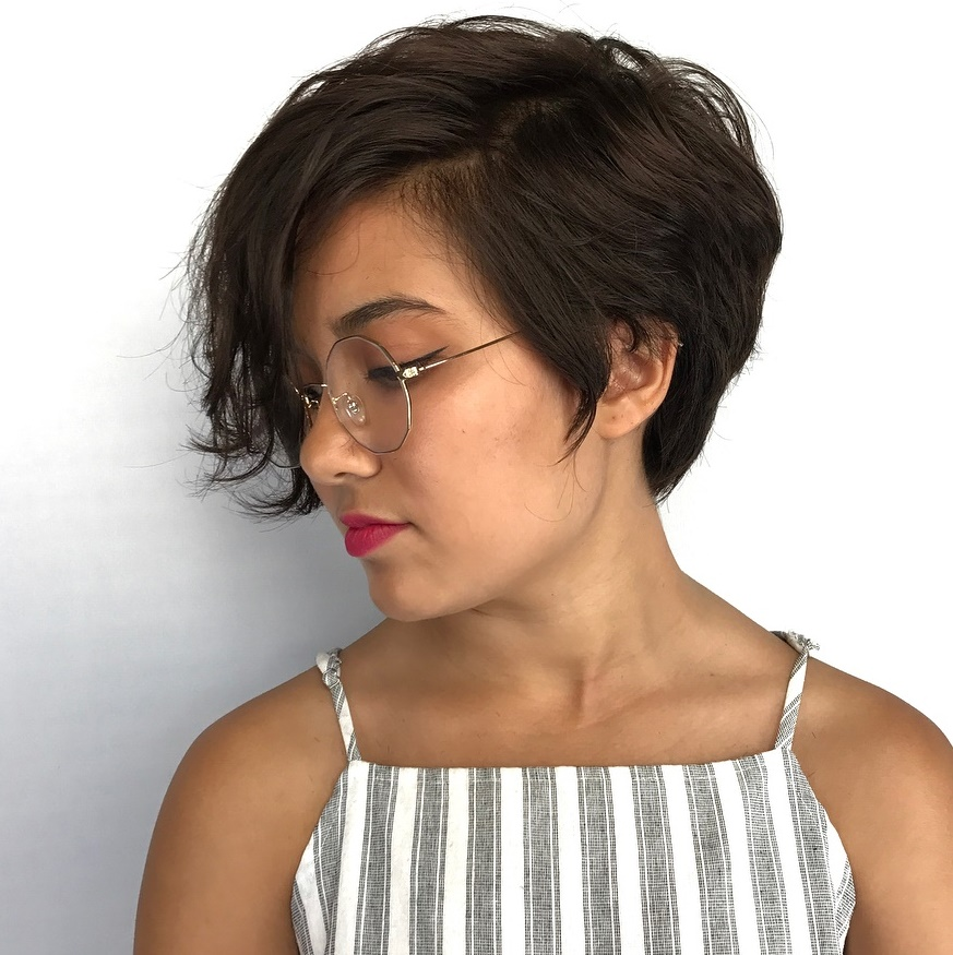 Tapered Pixie with Long Front