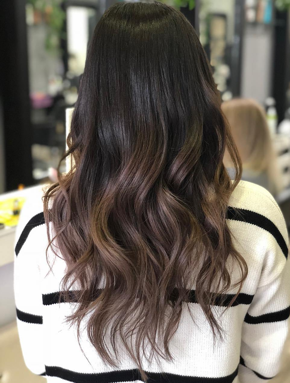 Melted Balayage Ombre for Brunettes
