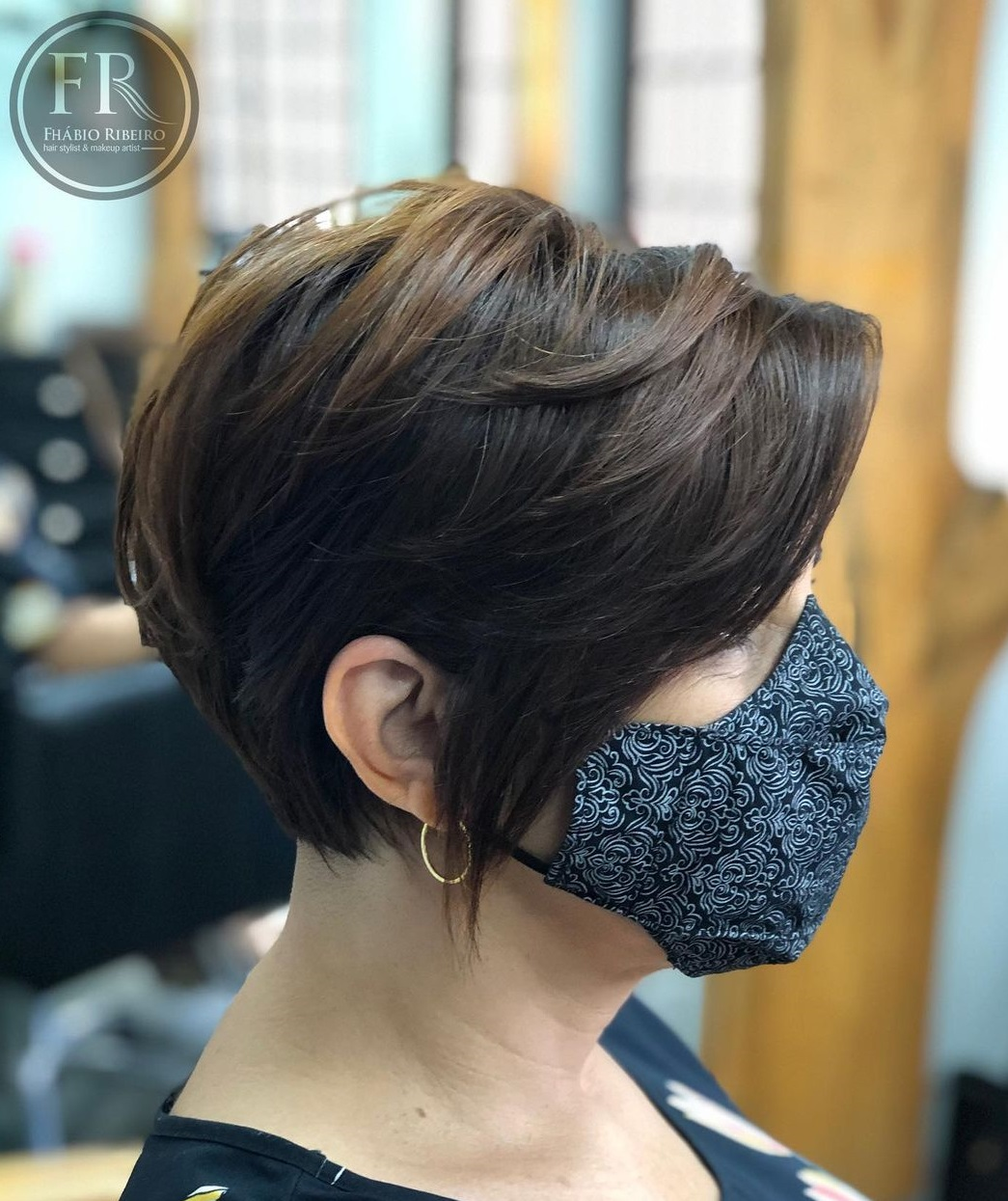 Low-Maintenance Pixie for Thick Hair