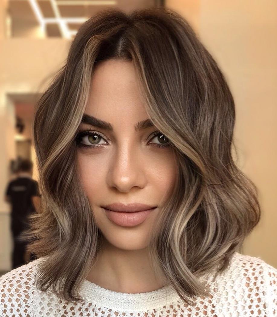 Medium Length Hair with Subtle Balayage