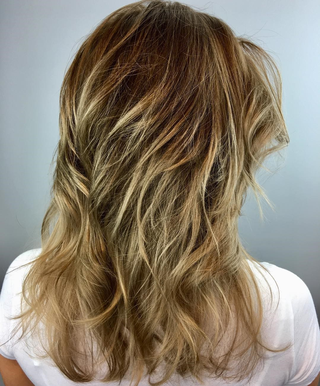 Medium Layered Haircut for Fine Hair