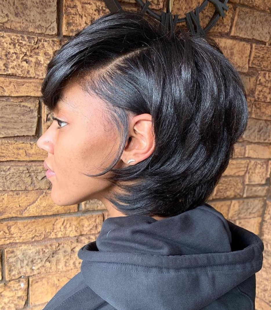 Chic Black Bob Haircut