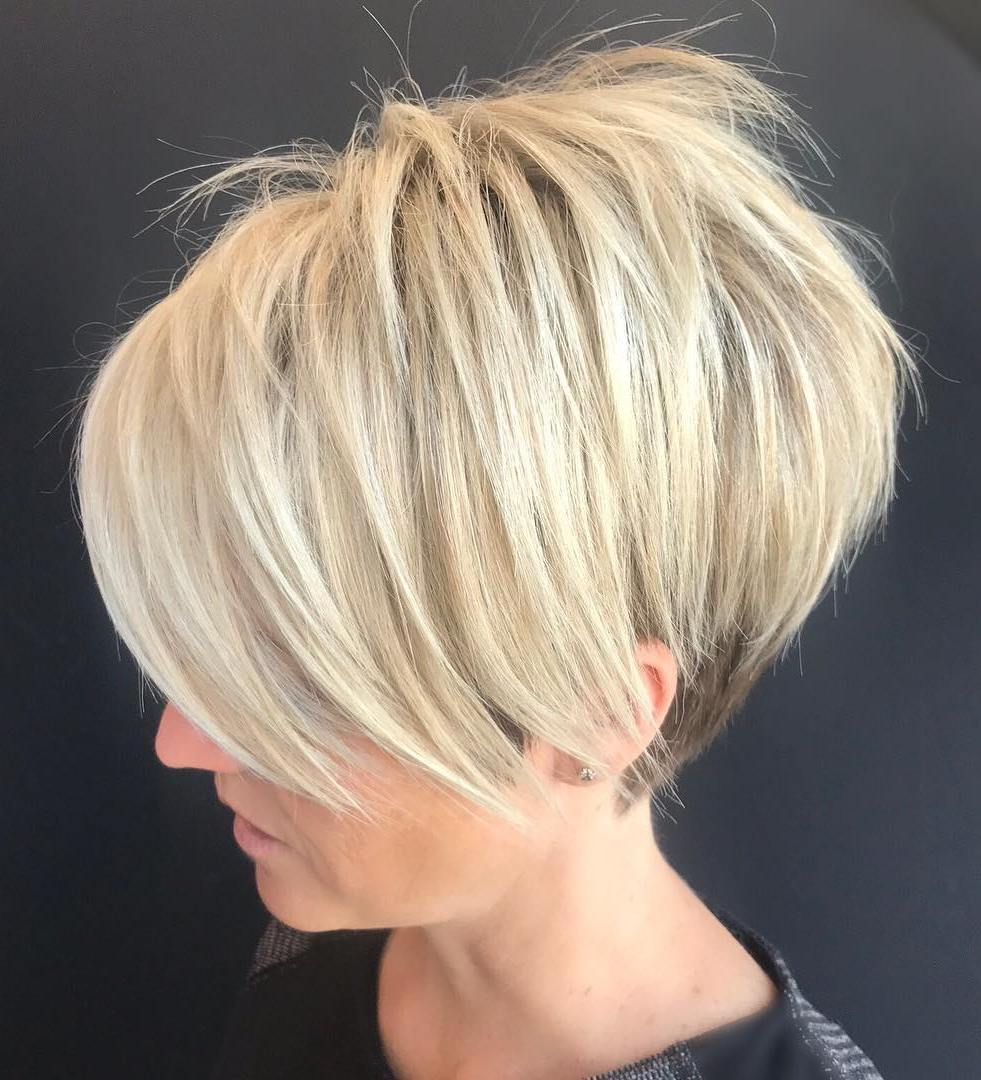 Bob Hairstyle Short Stacked Classic Pixie Www Galleryneed Com