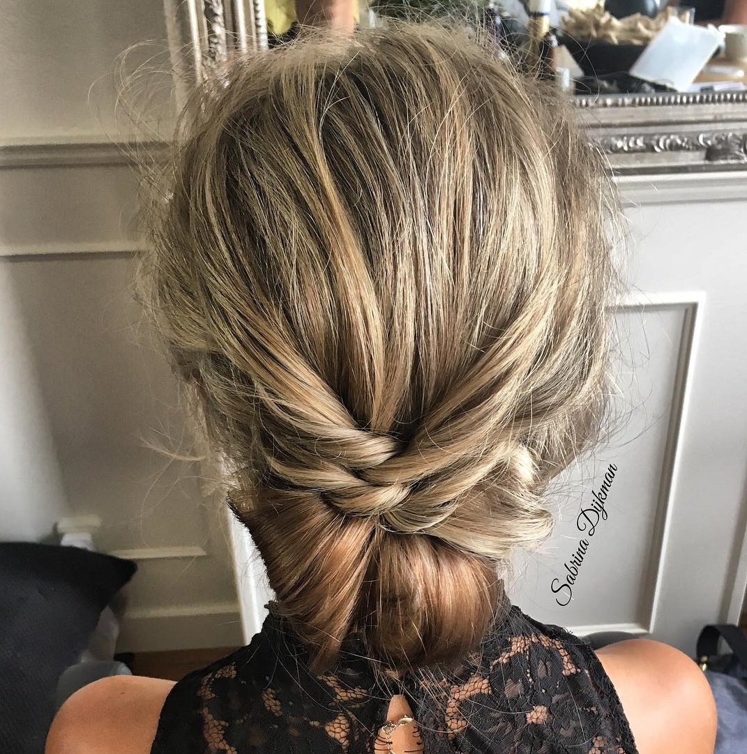 Formal Boho Chic Updo