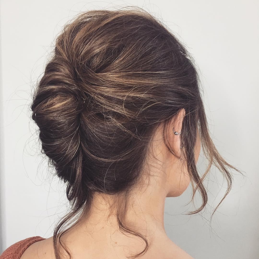 French Twist for Thick Hair