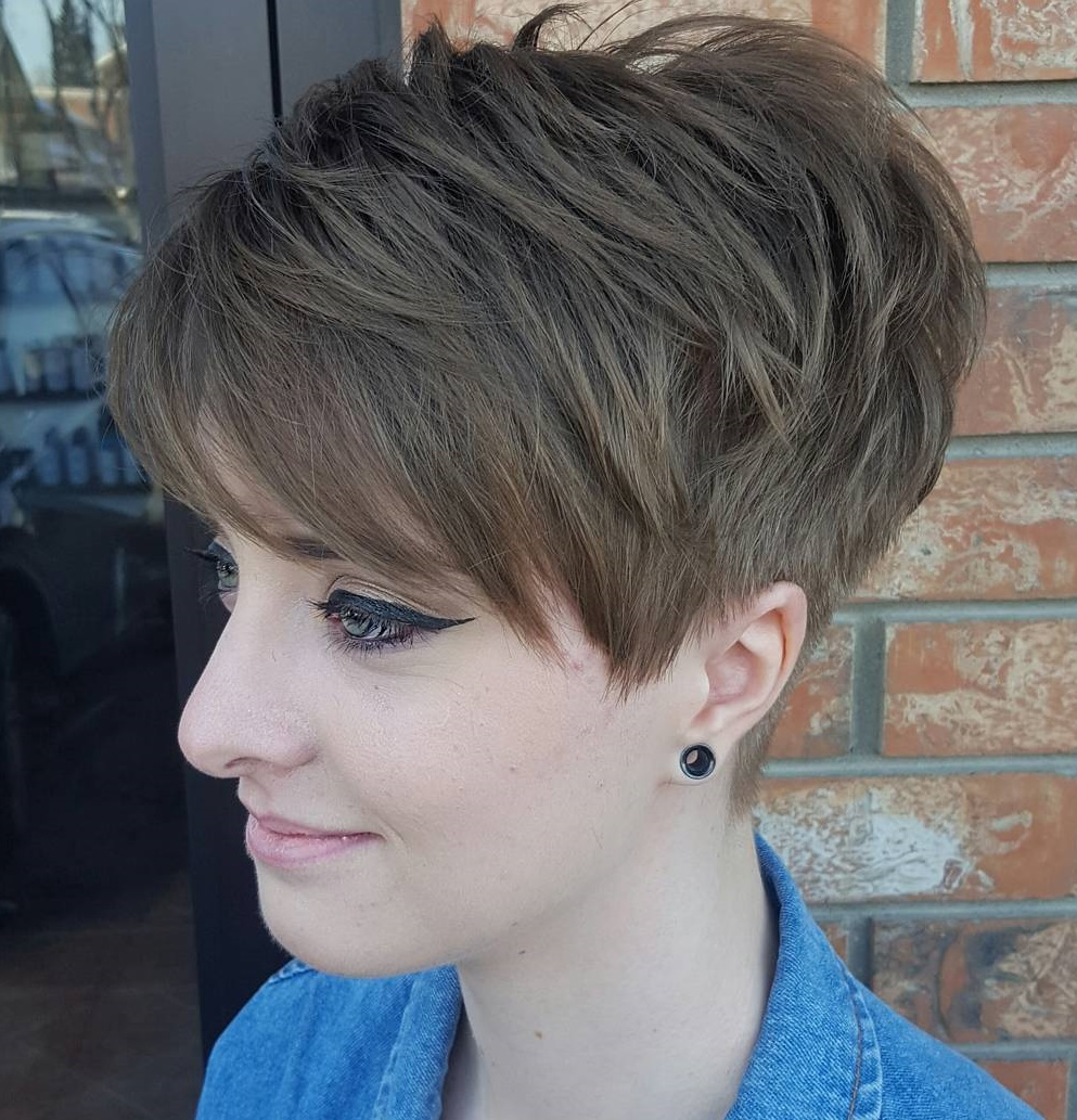 Boho Chic Piecey Tapered Pixie