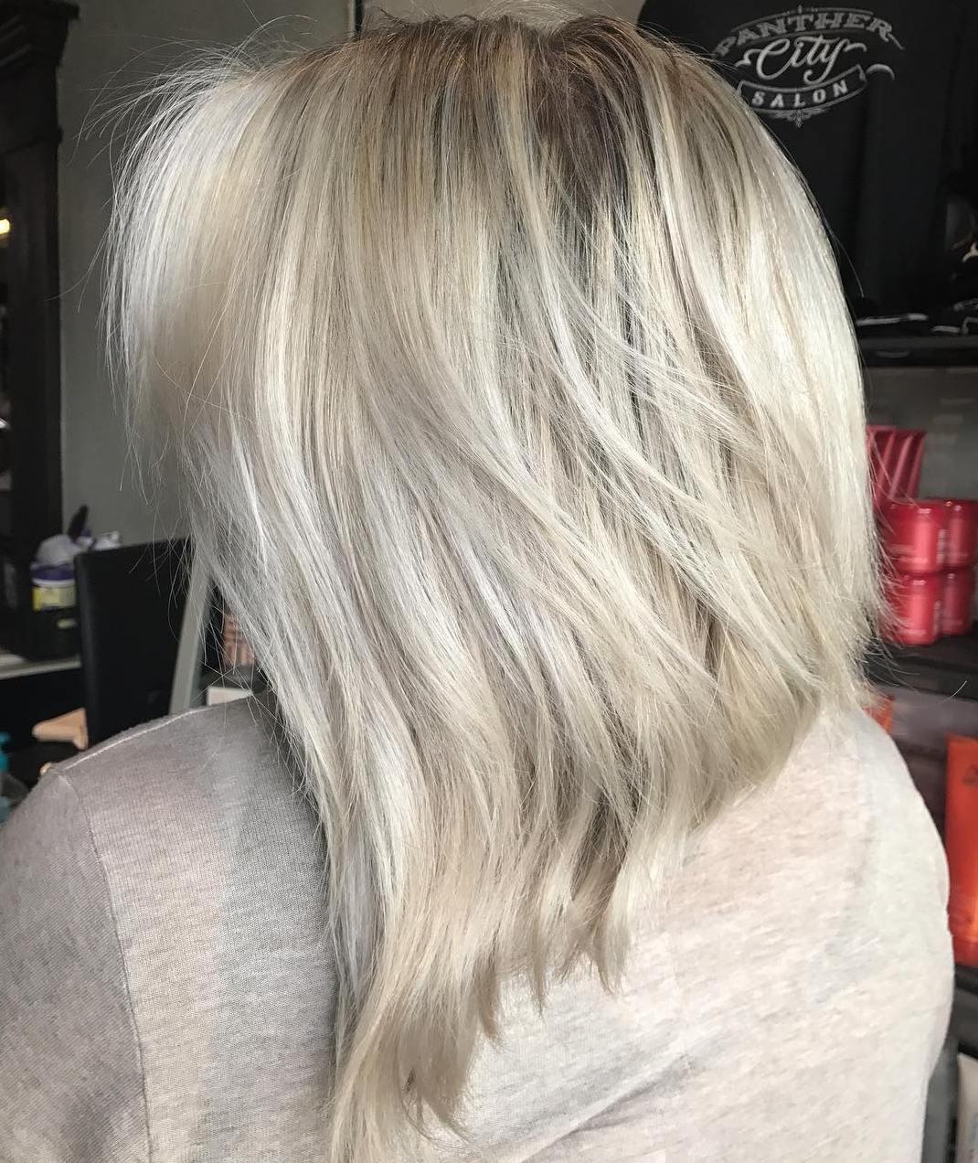 Medium Blonde Shag