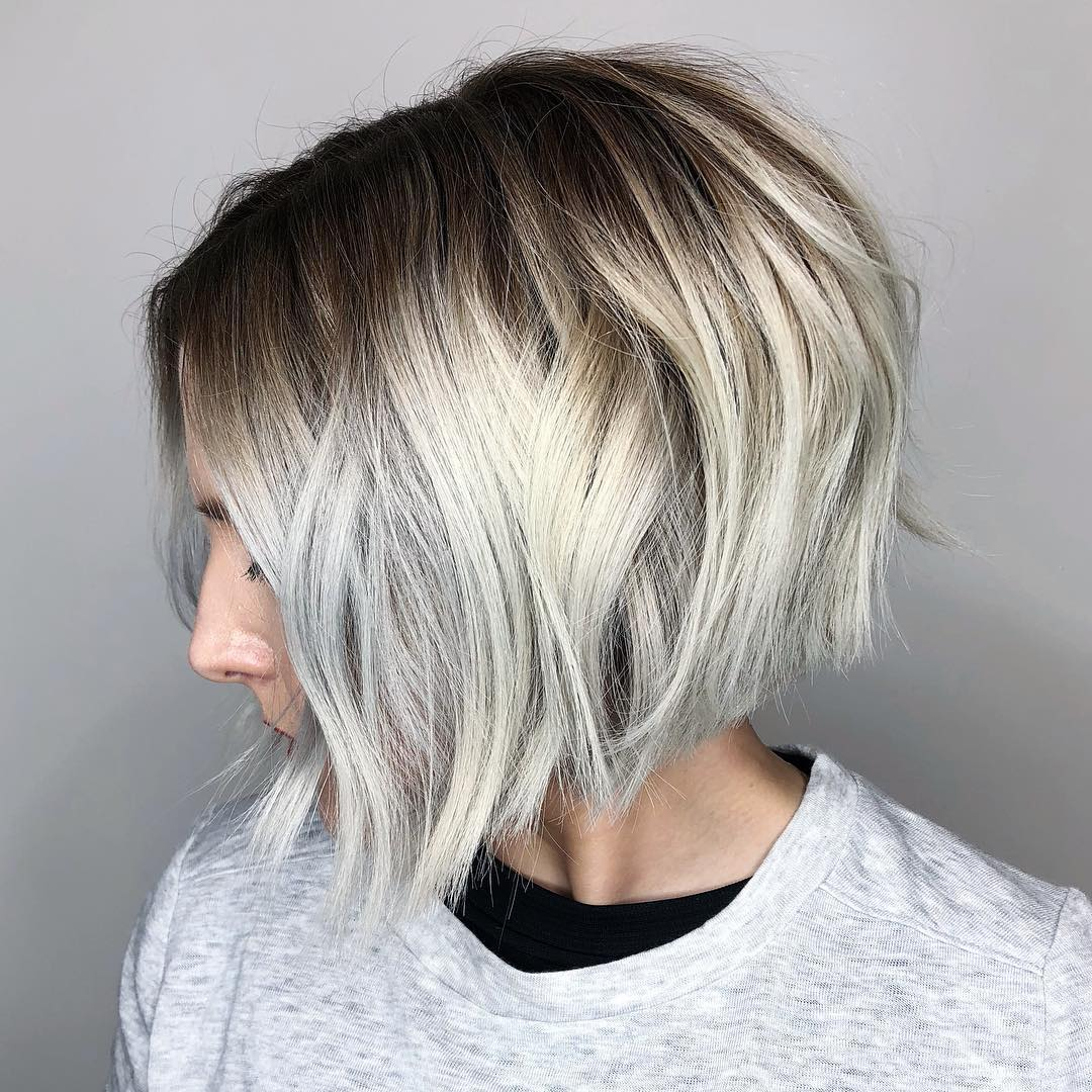 Short Choppy Bob for Thick Hair