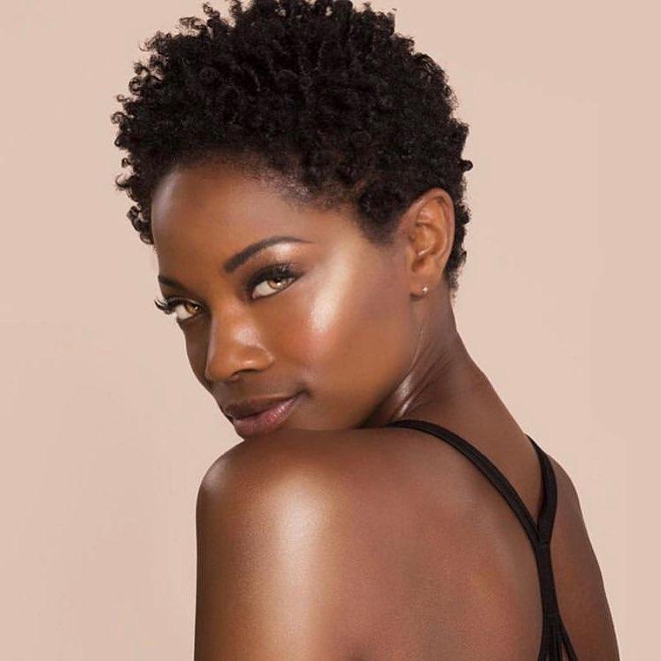 hair color for hazel eyes and dark brown skin tone
