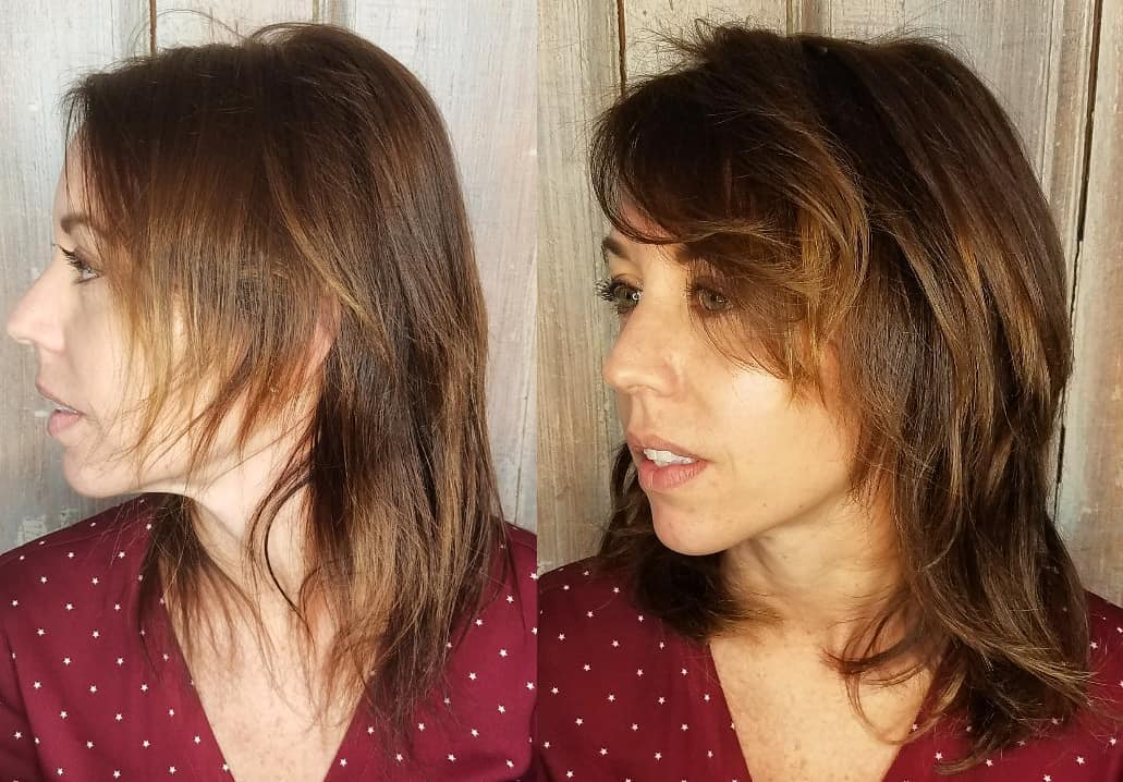 Extensions for Very Thin Medium Hair