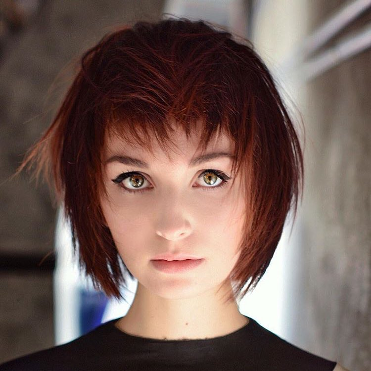 Best Red Hair Color for Hazel Eyes