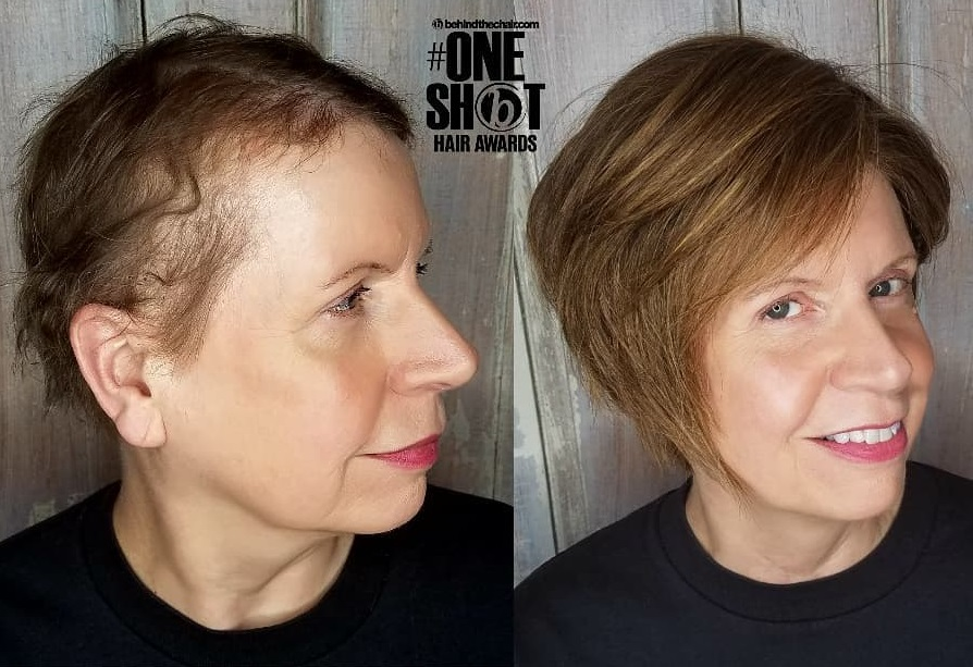 Short Wig for Women with Very Thin Hair