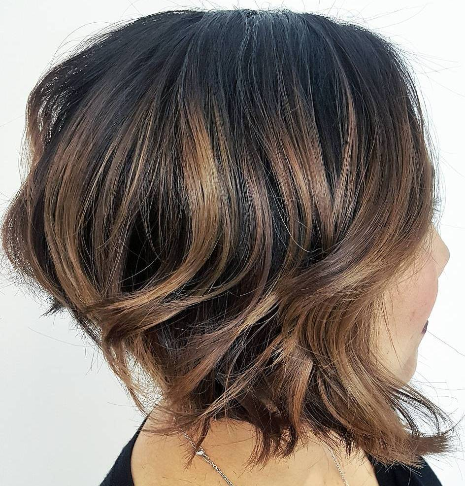Angled Bob with Waves