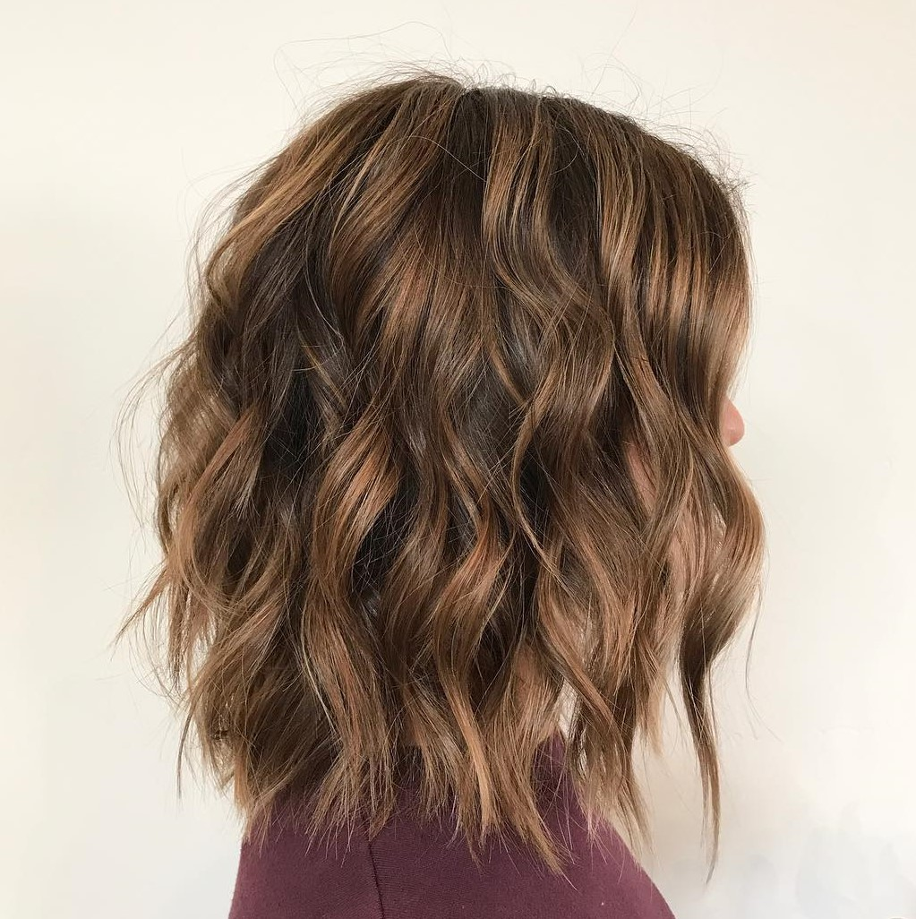 Edgy and Feminine Shag with Waves
