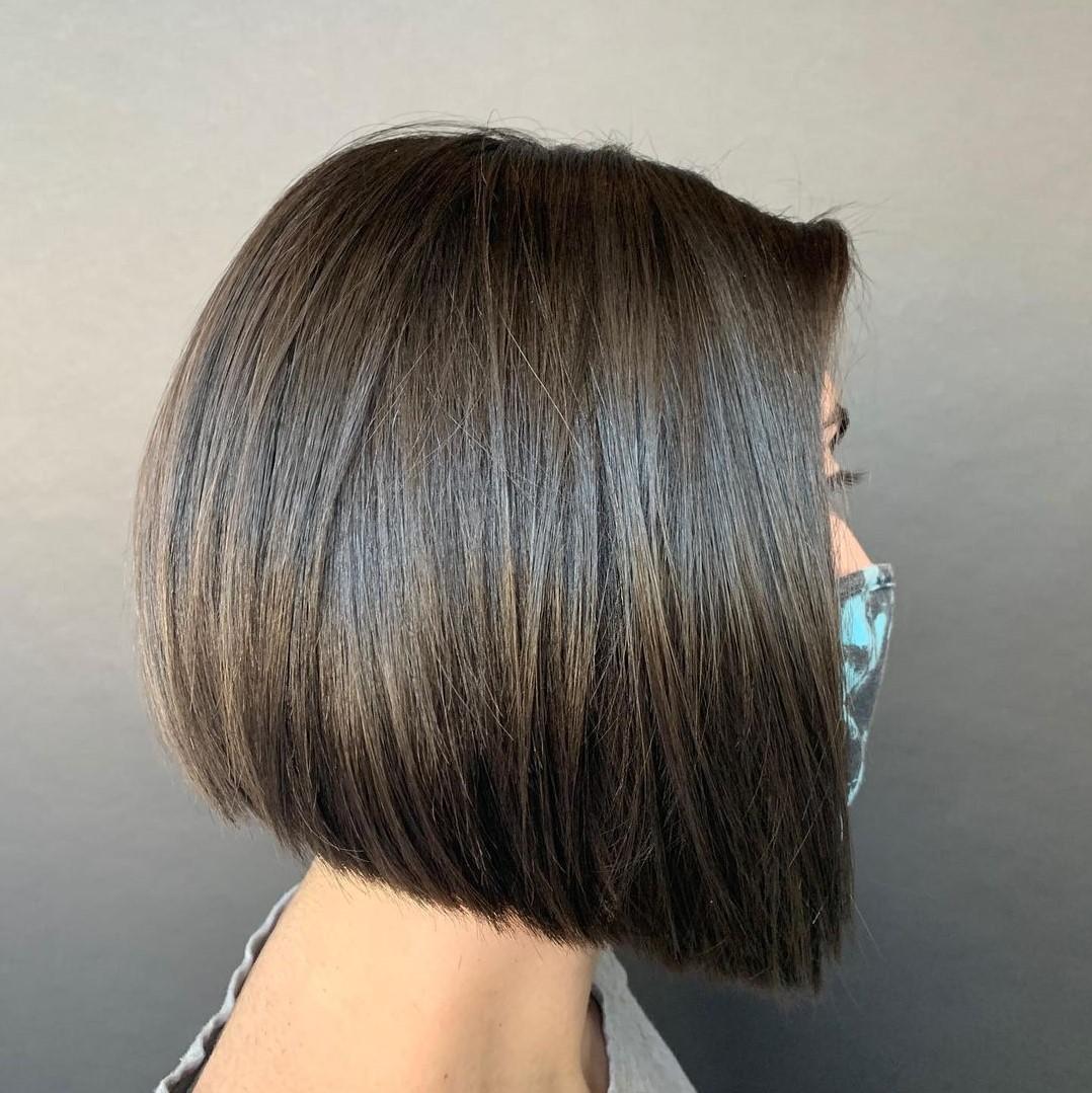 Blunt Concave Bob Haircut