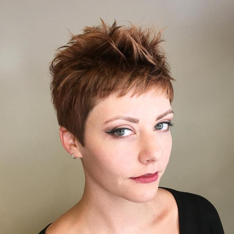 Punk-Inspired Choppy Pixie