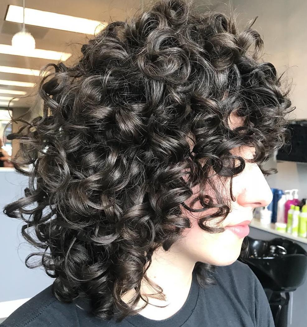 Long Graduated Bob for Curls